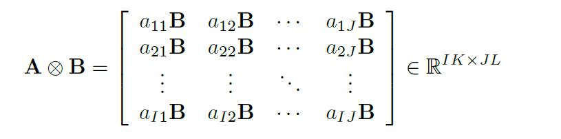Kronecker乘积